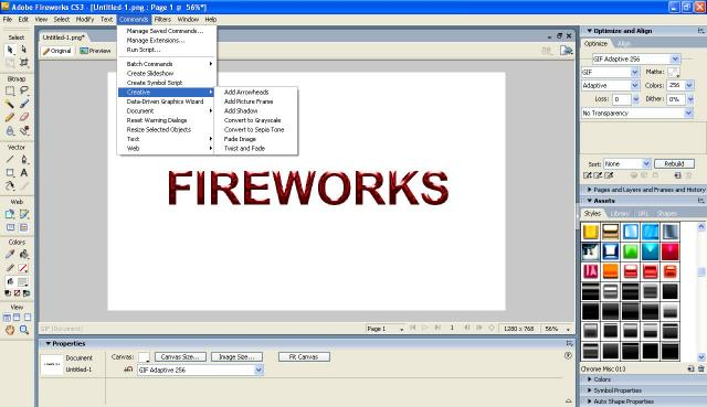 how to use adobe fireworks cs6