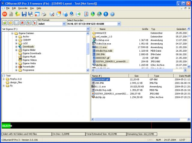 CDBurnerXP Pro download