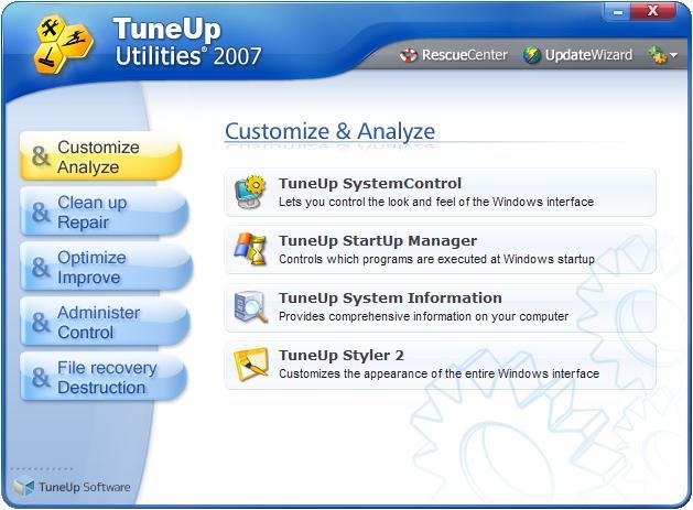 AVG TuneUp Utilities