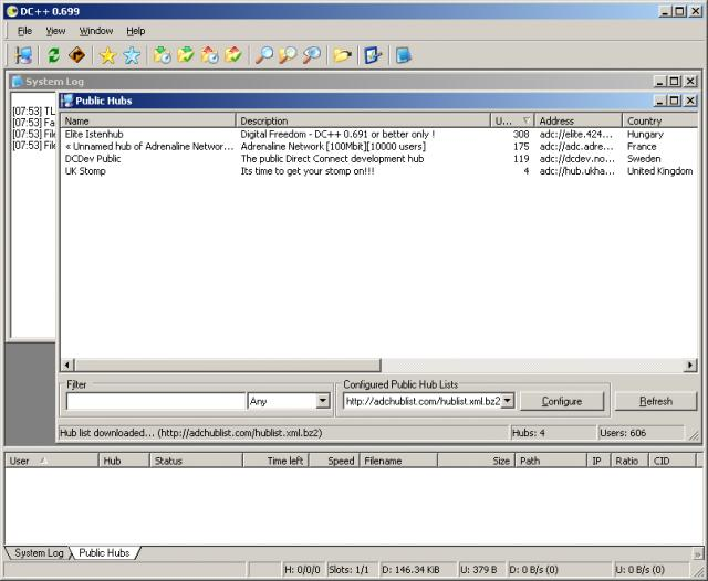 DC++ download