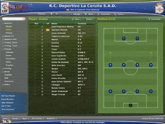 Football Manager Demo