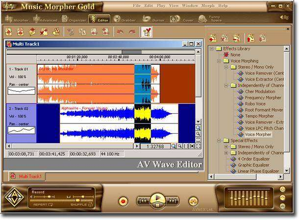 AV Music Morpher Gold download