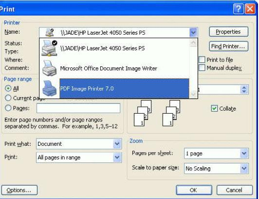 PDF Image Printer download