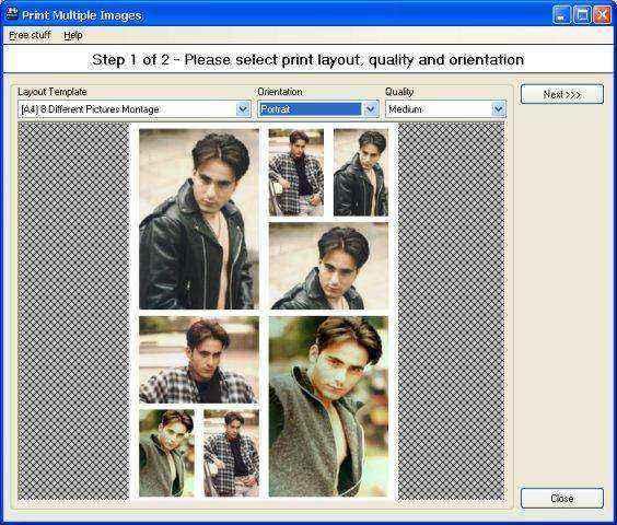 Pos Multiple Image Printing Utility