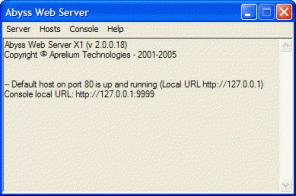 Abyss Web Server X1 download