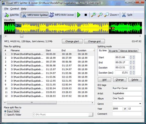 Visual MP3 Splitter & Joiner download