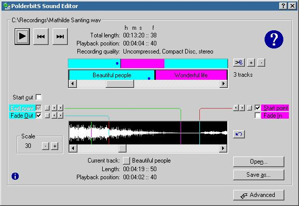 PolderbitS Sound Recorder and Editor download