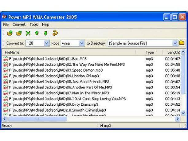 Power MP3 WMA Converter download