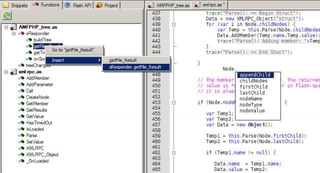SE|PY Actionscript Editor