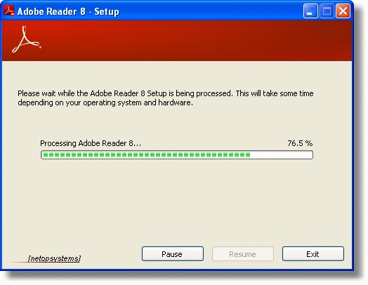 Adobe Reader Setup