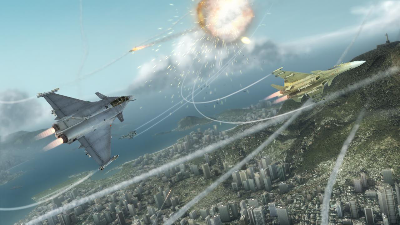 Tom Clancy's H.A.W.X. Demo