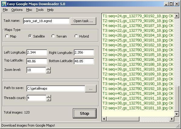 Easy Google Maps Downloader
