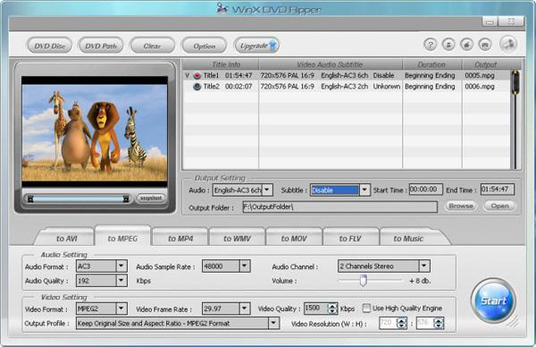 WinX DVD Ripper download