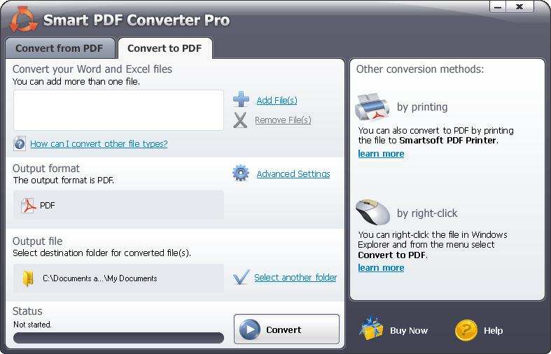 Smart PDF Converter Pro download