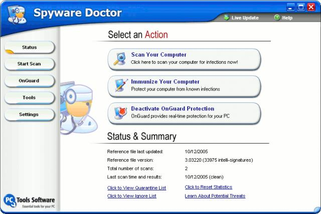 Spyware Doctor download