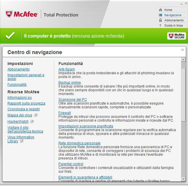 McAfee Total Protection download