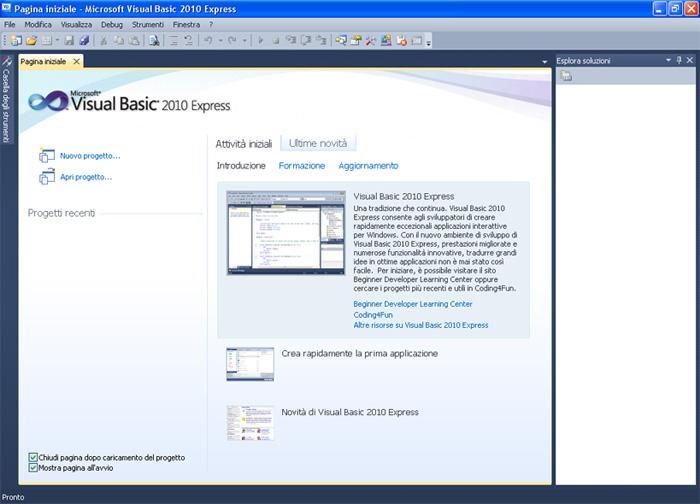 Microsoft Visual Basic Express