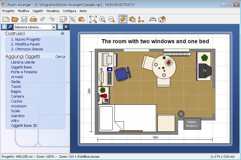 Room arranger immagini for Software arredamento interni gratis