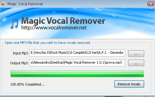 Magic Vocal Remover download
