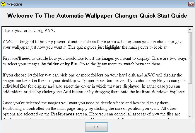 Automatic Wallpaper Changer download