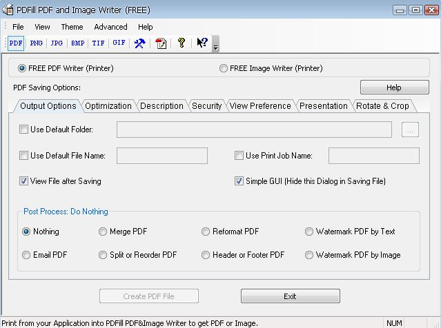 PDFill PDF and Image Writer