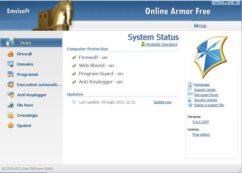 Online Armor Firewall