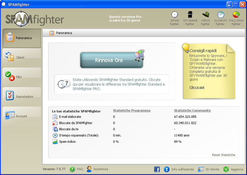 SPAMfighter download