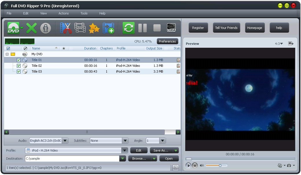 Full DVD Ripper