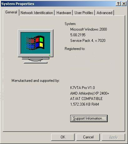 Windows 2000 Service Pack 4 download