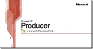 Microsoft Producer for PowerPoint