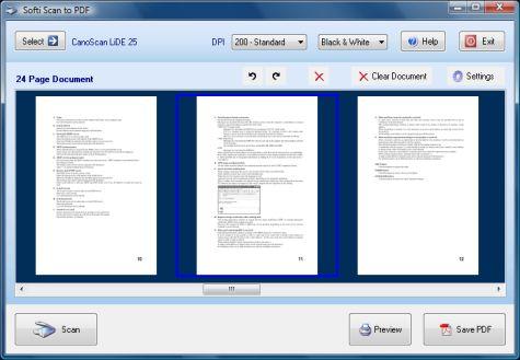Softi Scan to PDF