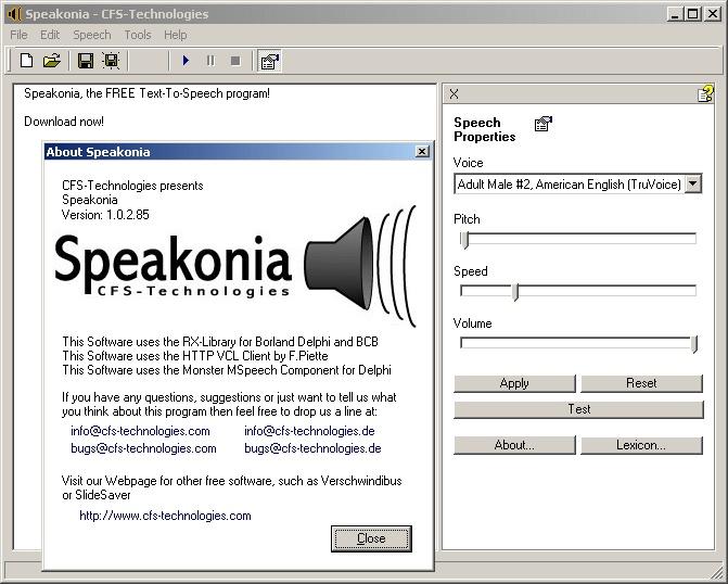 Speakonia