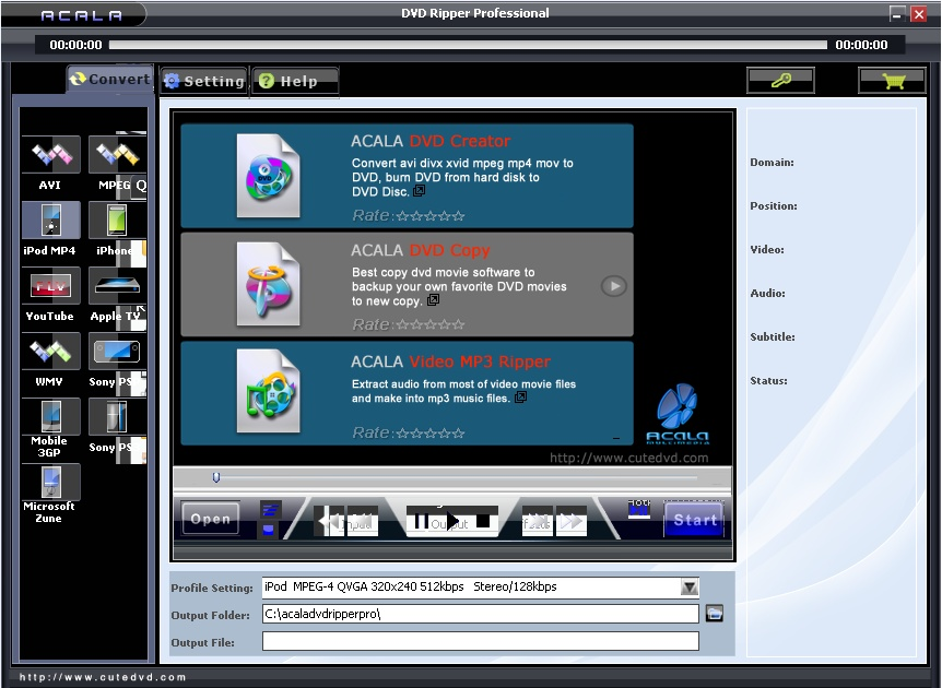 Acala DVD Ripper Professional