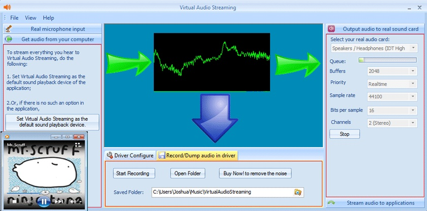 Virtual Audio Streaming download