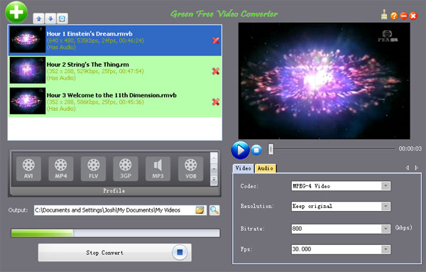 Green Free Video Converter