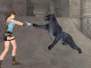 Tomb Raider: Anniversary Demo Lara in azione