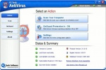 PC Tools AntiVirus Finestra principale