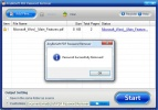 AnybizSoft PDF Password Remover Decriptazione terminata