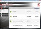 Avira FREE Antivirus Stato generale del software e del sistema