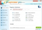 PC Optimizer Pro Schermata di Registry Optimizer