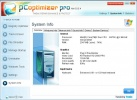 PC Optimizer Pro Schermata di system info