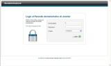 Joomla Schermata accesso amministrazione