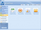 WiseFixer Finestra di backup
