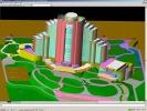 DWG TrueView Vista tridimensionale di albergo