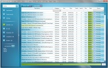 UltraTorrent Pagina del client torrent con elenco dei download