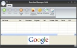 Download Manager Gold Schermata principale del software