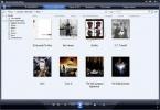 Windows Media Player Copertine degli album