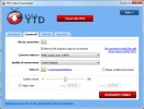 YTD Video Downloader Schermata di conversione video