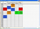Excel Viewer Interfaccia del software con un file aperto