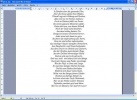 Word Viewer Interfaccia del software con un file aperto